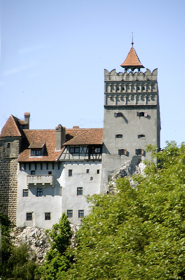 Tower at Bran Castle