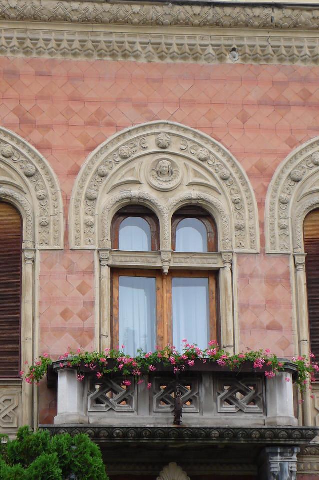 Window in Serbia