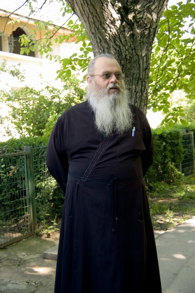 Monk at Caldarusani Monastery