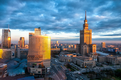 Warsaw Sunrise