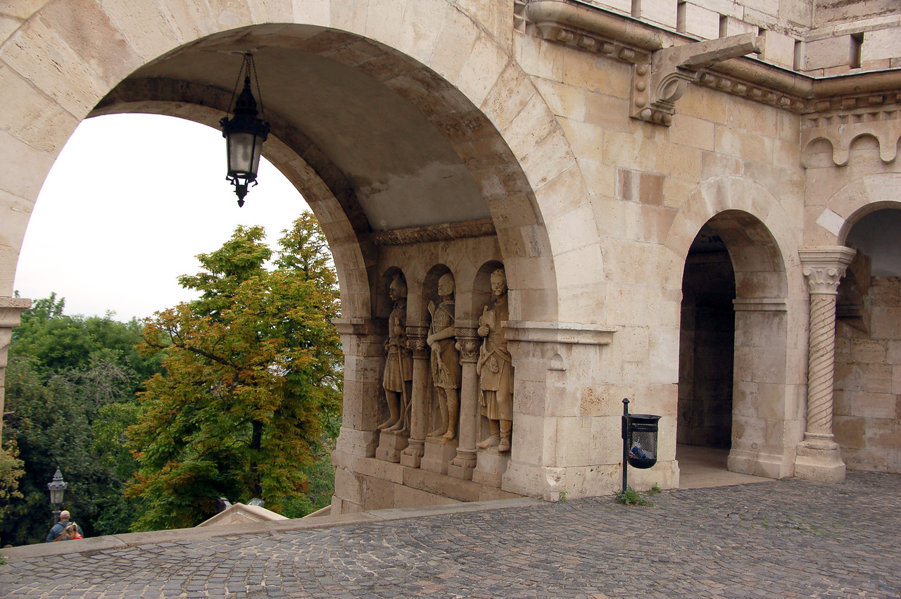 Fishermen's Bastion, Castle District, Budapest, Hungary