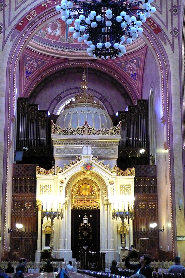 Interior of synagogue