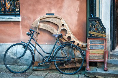 Bike and Piano