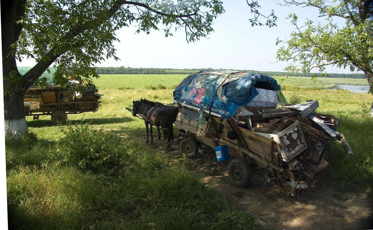 Gypsy Caravan in Romania