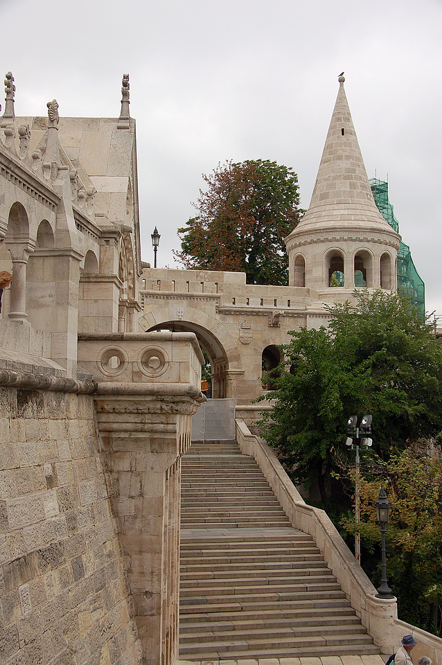 Steps at Fishermen's Bastion