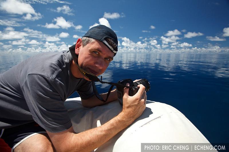 Photographer Cor Bosman in Papua New Guinea