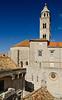 _D7K2142 Bell Tower, Dominican Monastery, Dubrovnik