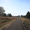 The OC & E Trail was paved for the first few miles east of Klamath Falls.