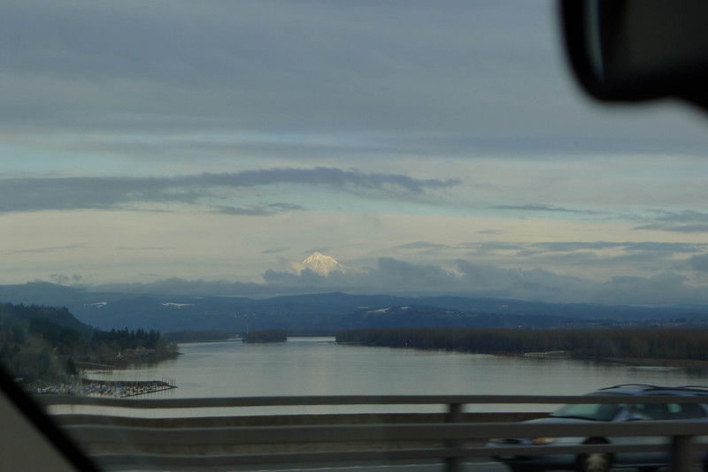 Mt. Hood on the way out.