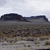 Fort Rock from the front side