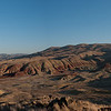 An early attempt at a stictched panorama of the Painted Hills at sunset.  Doesn't really do the scope justice, but gets you closer.