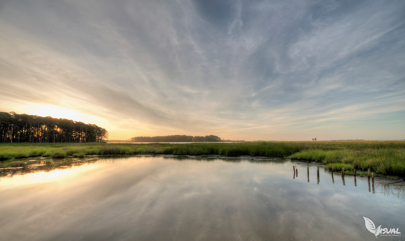 Sunrise at Blackwater National Wildlife Refuge