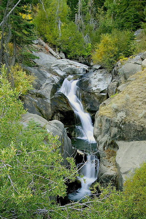 Waterfalls in Montor Pass CAL 46-T