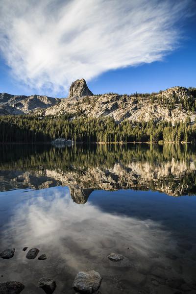 Lake George and Crystal Crag