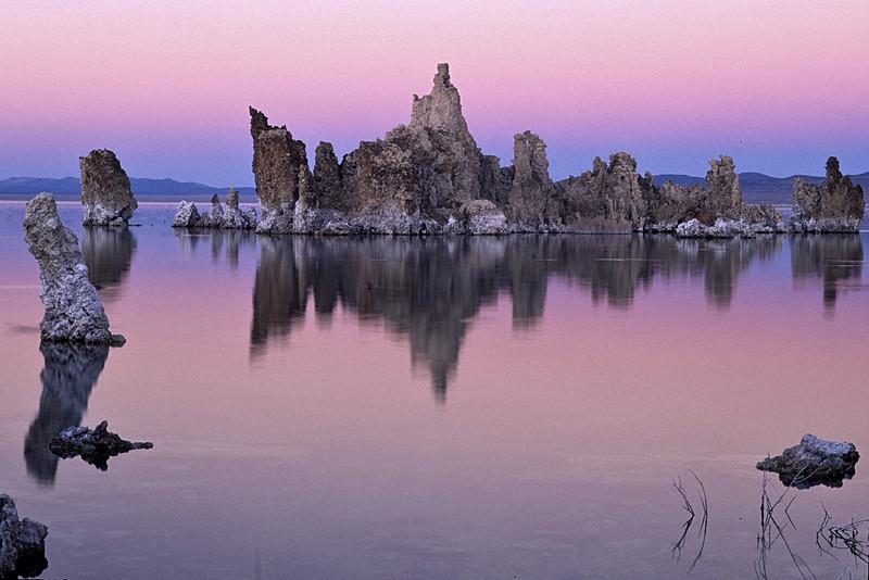 Tufas at dawn, Mono Lake