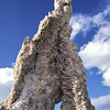 Large tufa at Mono Lake.