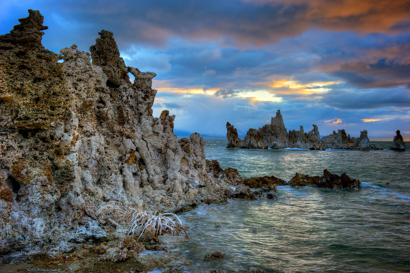 Morning glory at Mono Lake