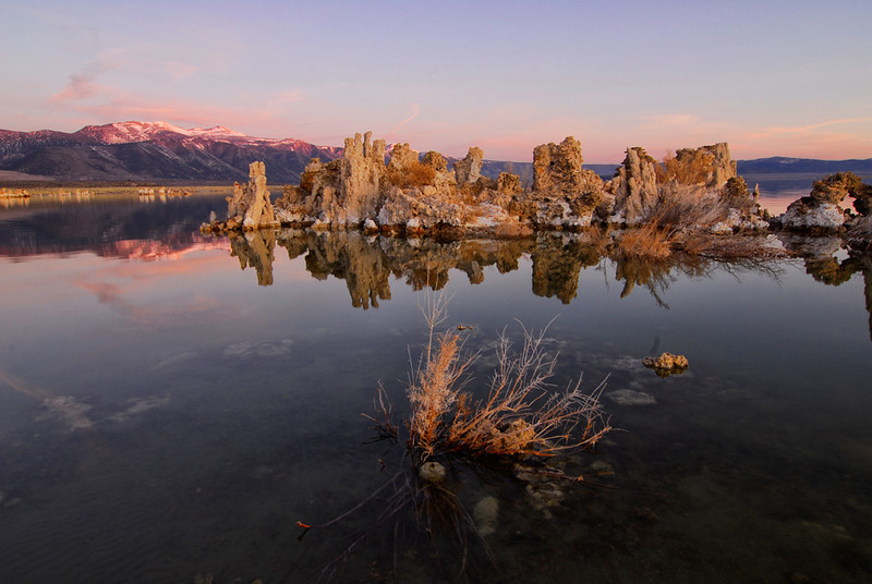 Early morning at Mono Lake