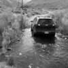 first of many little water crossings up Silver Canyon Road outside Bishop.  Overall the Chevy did pretty well on our trip.
