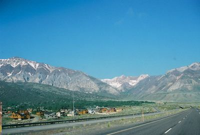 7/2/05 View from Hwy 395N @ June Lake Junction (enroute from Bishop to Alturas). Mono County, CA