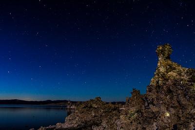 Mono Lake Moonlit Tufas