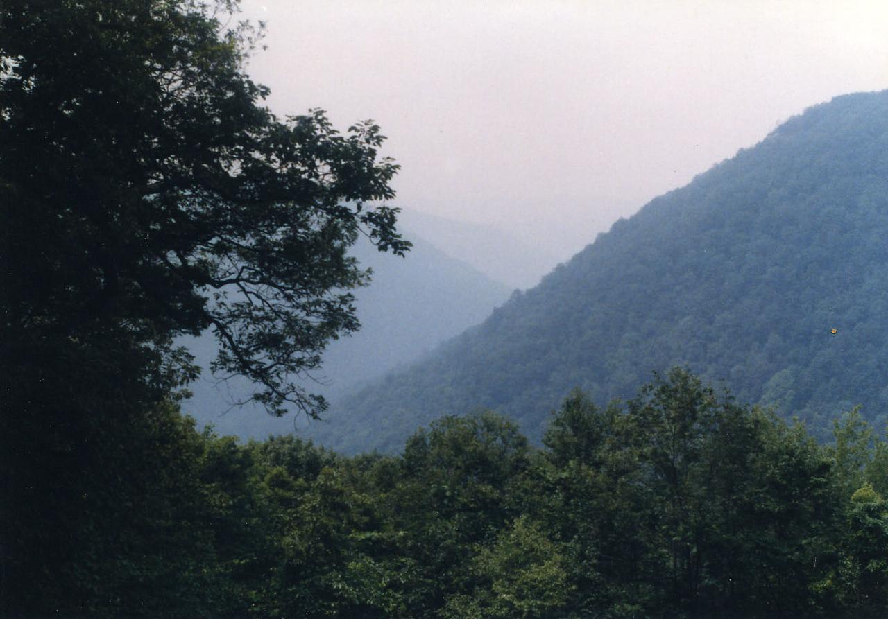 Blue Ridge Parkway - 1989