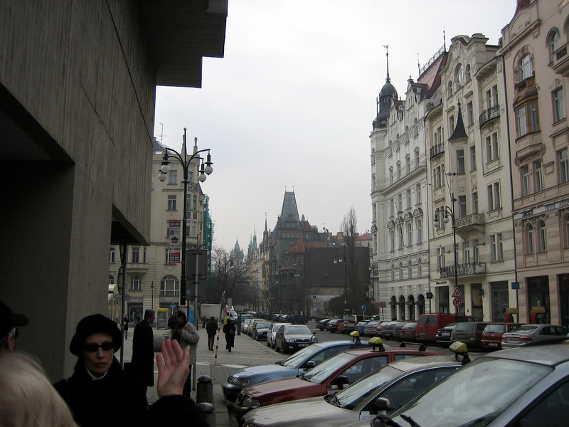Parizska toward OT Square