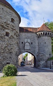 Tallinn, Estonia: the Great Coastal Gate (16th century)