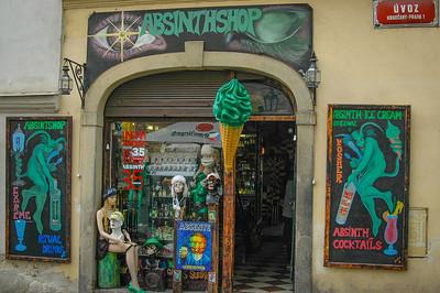 Prague Castle District: The Absinthe Shop
