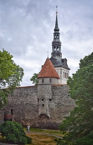 Tallinn, Estonia: Old Town walls