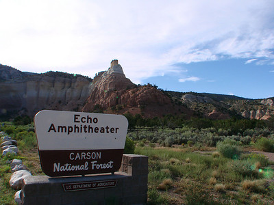 Echo Amphitheater, Rio Arriba County, New Mexico   http://www.digitalabiquiu.com/pages/tours/echo_t.html