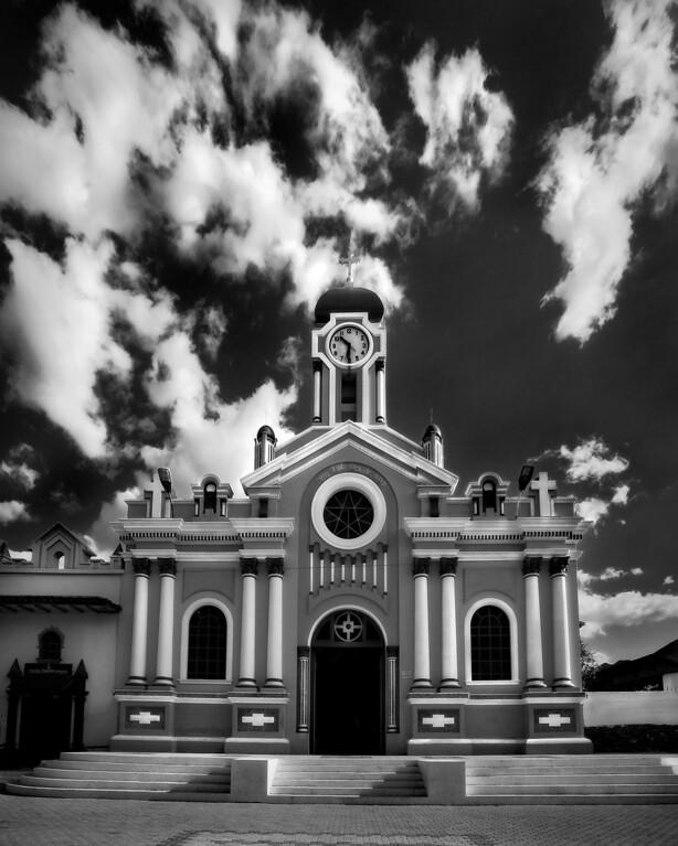 The Cathedral of, Cristo Luz del Mundo, Vilcabamba, Ecuador