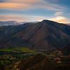 Sunrise, San Joaquin valley, Ecuador.