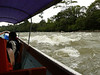 We encountered a few rapids along the way.
