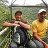 Ecuador 2012: Mindo - Our guide, Sebastian, is on the left.