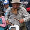 Ecuador 2012: Otavalo - One-man Band street entertainer
