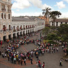 Ecuador 2012: Quito - View from a balcony in the Carondelet Palace