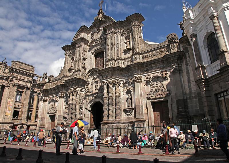 Ecuador 2012: Quito - La Compañía de Jesus