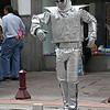 Ecuador 2012: Quito - Street performer