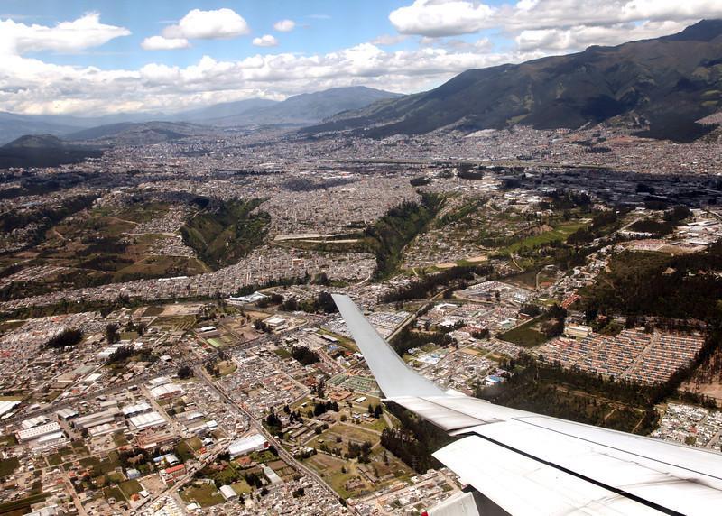 Ecuador 2012: Quito - Arriving in Quito