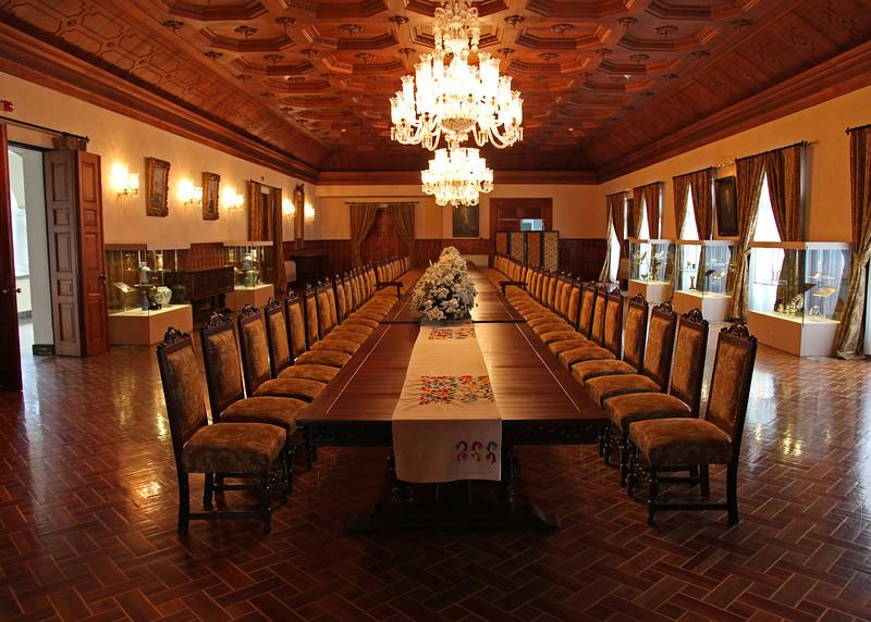 Ecuador 2012: Quito - Banquet Hall in the Carondelet Palace