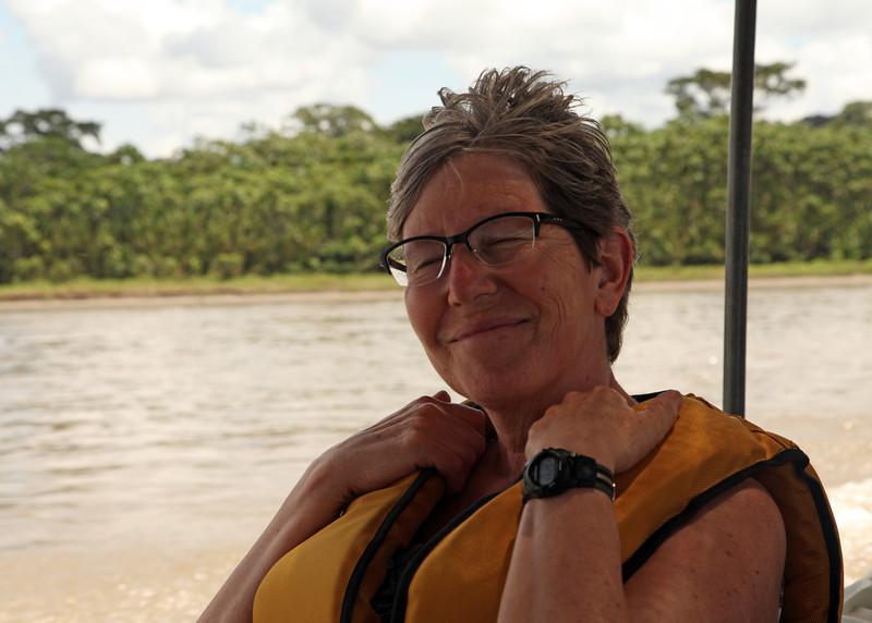 Ecuador 2012:  Sacha Lodge - Boating down the Rio Napo to Sacha Lodge