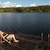 Ecuador 2012: Sacha Lodge - Lounging at the lagoon