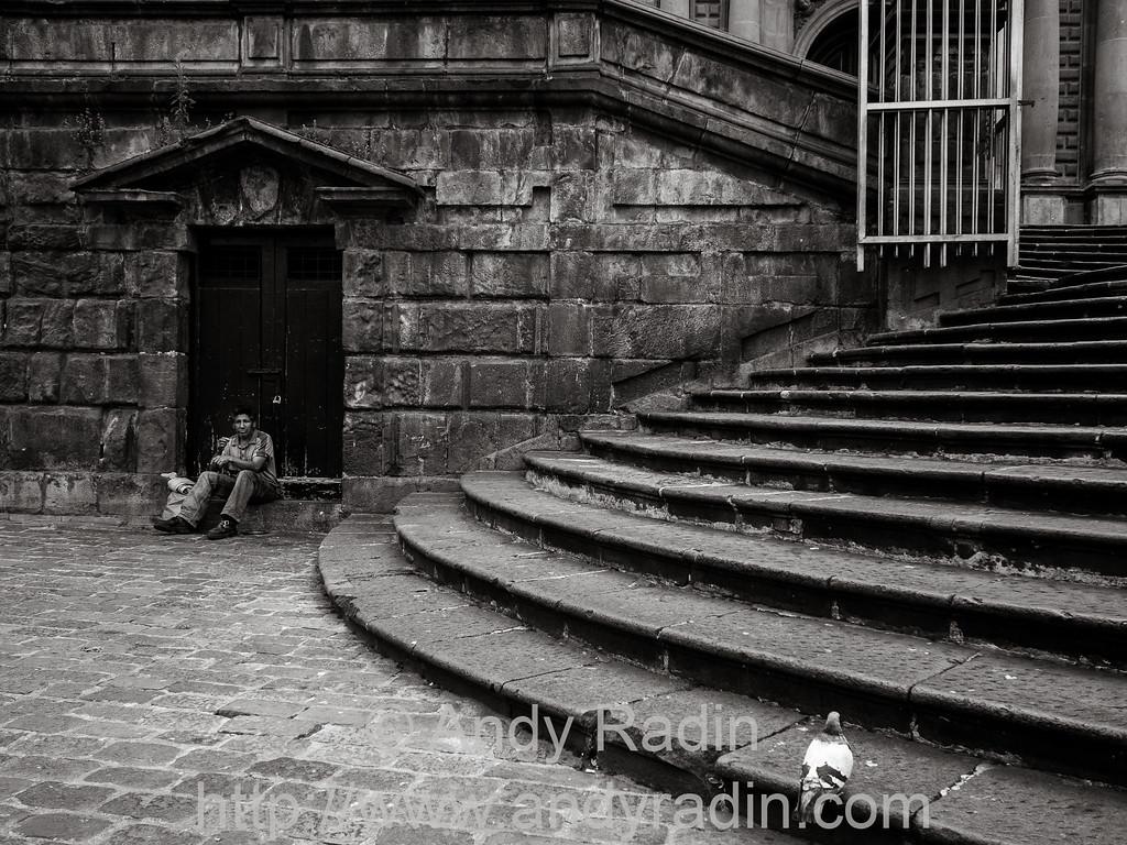 Quito, Ecuador - Plaza San Francisco
