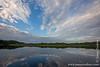 Lake Anangucocha and Clouds