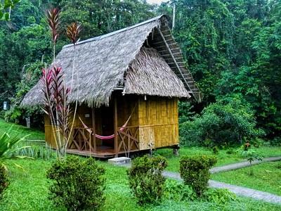 My cabin at the Yarina Lodge
