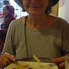 Judy, Food, Lunch and tip = $4 at La Guaragua, in Plaza Grande