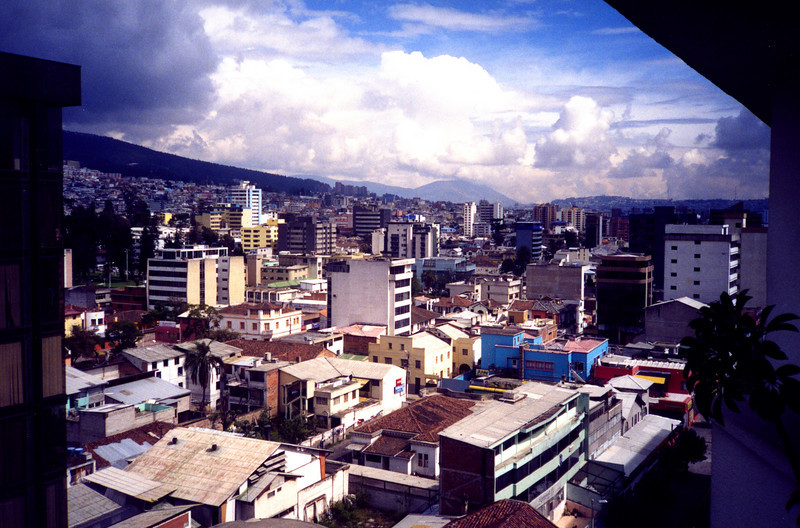 Quito from our hotel