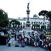 Puppet show, Plaza de la Independencia, Quito
