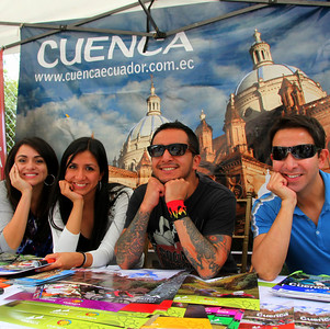 Cuenca, Chamber of Commerce, Cuenca's friendly, promotion staff